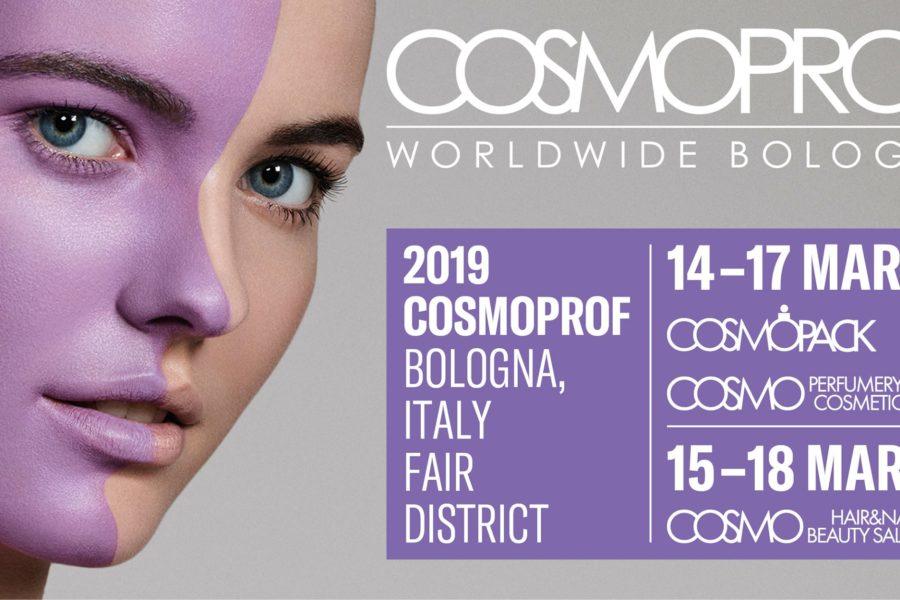 PDT Laboratori Cosmetici vola a Bologna per Cosmoprof Worldwide 2019